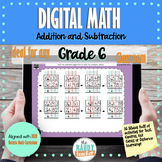 Digital Math | Addition and Subtraction | Grade 6 | New On