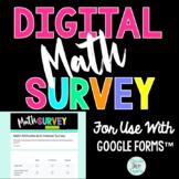 Digital Math Attitudes and Interest Survey