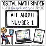 Digital Math Binder Number 1