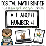 Digital Math Binder Number 4 Freebie