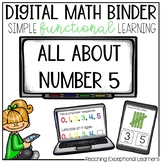 Digital Math Binder Number 5