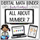 Digital Math Binder Number 7