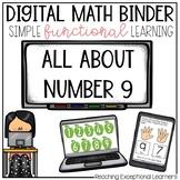 Digital Math Binder Number 9