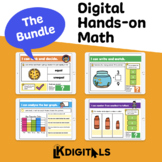Digital Math Bundle (Growing Bundle) | Google Slides™ & Seesaw™