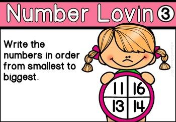 Digital Math Centers February Valentines