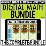 Digital Math Centers GROWING BUNDLE for 1st & 2nd Grade Di