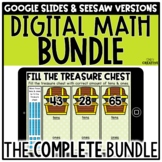 Digital Math Centers GROWING BUNDLE for 1st & 2nd Grade Di