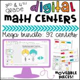Digital Math Centers Bundle Distance Learning