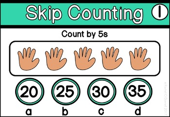 Digital Math Centers Skip Counting