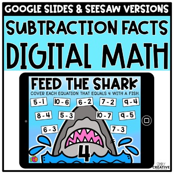 Digital Math Centers for Subtraction Facts for Distance Learning