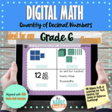 Digital Math | Decimals | Grade 6 | New Ontario Math Curriculum