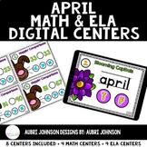 Digital Math & ELA Centers {April}