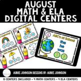 Digital Math & ELA Centers {August}