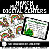 Digital Math & ELA Centers {March}