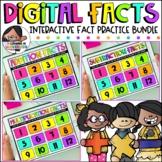 Digital Math Facts | The Bundle