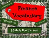 Digital Math Financial Vocabulary Sort Activity Google Sli