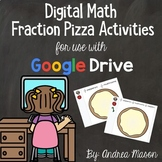 Digital Math Fractions Pizza Activities - Distance Learnin
