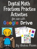 Digital Math Fractions Practice - Distance Learning - Goog