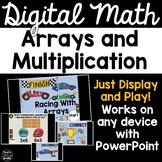 Digital Math Game -Arrays & Multiplication 3.OA.1