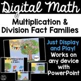 Digital Math Game -Multiplication & Division Fact Families 3.OA.6
