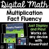 Digital Math Game -Multiplication Fact Fluency 3.OA.7