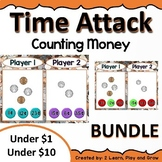 Digital Math Game Counting Money Time Attack