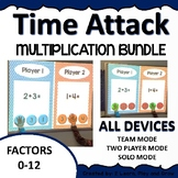 Digital Math Game Time Attack Multiplication