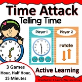 Digital Math Game Time Attack Telling Time