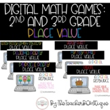 Digital Math Games: 2nd and 3rd Grade Place Value (Distanc