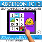 Digital Math Games - Addition to 10 | Digital Math Centers
