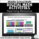 Digital Math Games Membership (Truth or Dare Games), 2019-2020