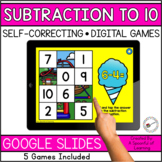 Digital Math Games - Subtraction to 10 | Digital Math Cent