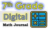 7th GRADE MATH - 100 Google Doc Writing Prompts!