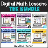 Digital Math Lessons Bundle