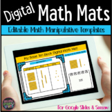 Digital Math Manipulatives in Google Slides | Distance Learning