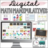 Digital Math Manipulatives - Google Slides - Distance Learning