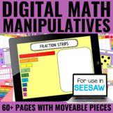 Digital Math Manipulatives | Distance Learning | Seesaw Ac