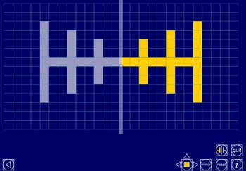 Digital Math Manipulatives for the Common Core: Symmetry Grid