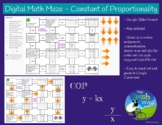 Digital Math Maze - Constant of Proportionality - Remote &