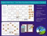 Digital Math Maze - One Step Equations (x & /) - Remote /