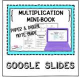 Digital & Paper Digital Math Notebook - 4.NBT.5 Mini-Book