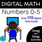 Digital Math: Numbers 0-5 | Google Slides | Distance Learning