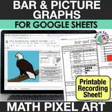 Digital Math Pixel Art - Bar Graphs and Picture Graphs - G