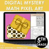 Digital Math Pixel Art | Mystery Picture 5th Grade Coordinate Grids 5.G.1