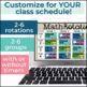 Digital Math Rotation Boards (Editable)