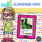 Digital Math Scavenger Hunt