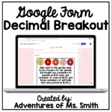 Digital Math Scavenger Hunt - Decimals