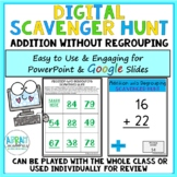 Digital Math Scavenger Hunt for Addition Without Regrouping