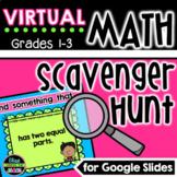 Digital Math Scavenger Hunt for Remote Learning