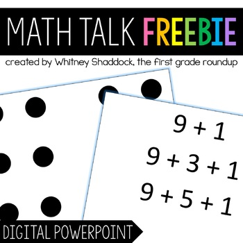 Digital Number Talks FREEBIE